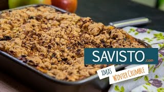 Christmas Recipes: Winter Crumble