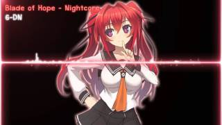 Blade of Hope - Nightcore