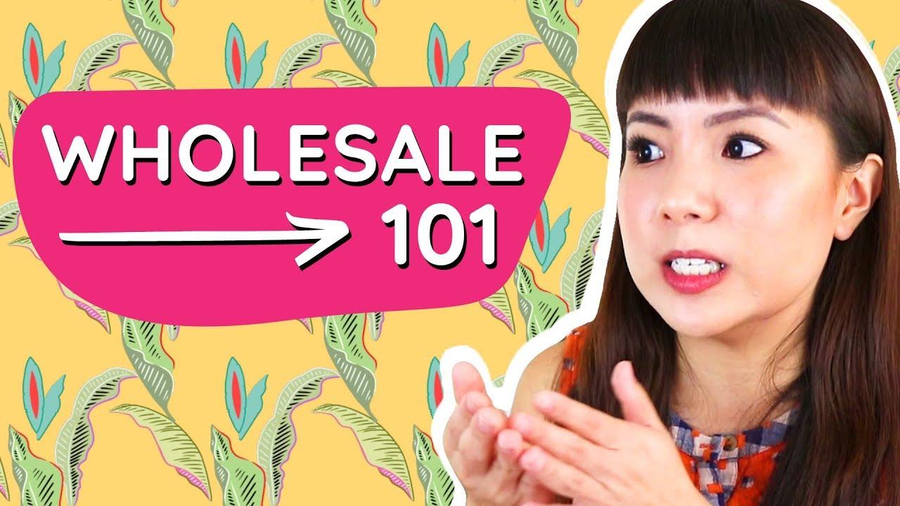Wholesale Basics for Handmade Business and Etsy Shops