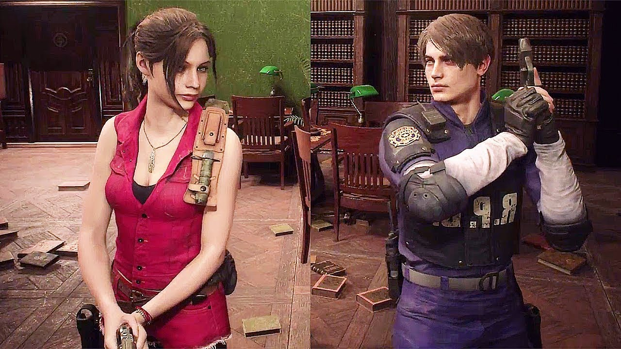 Resident Evil 2 Remake Claire Leon Classic Costumes Outfits Free Unlockables 2019 Youtube