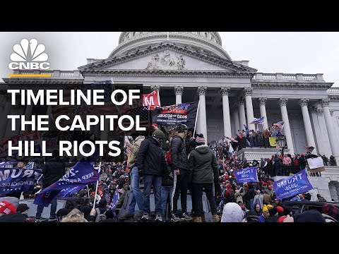 The Capitol Riots: An Hour-By-Hour Timeline