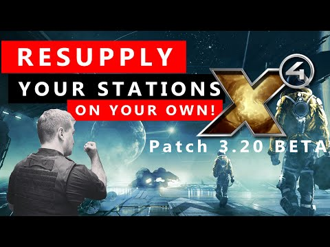 Station Supply Guide - How To Resupply Your Station By Yourself in X4 Station Management Guide