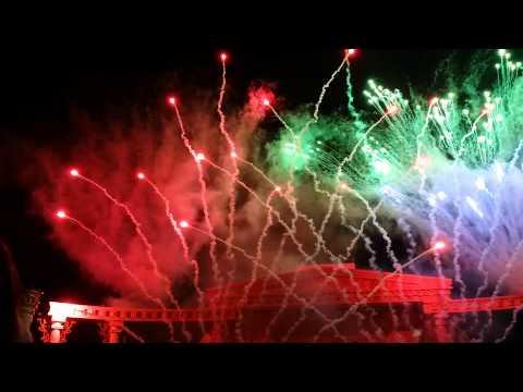 Firework in everland resort