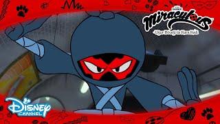 Kötü Çizgi Film Kahramanı 😱 | Mucize: Uğur Böceği ile Kara Kedi | Disney Channel TR