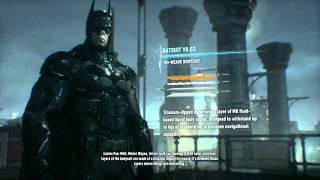 Batman: Arkham Knight - Suit Up