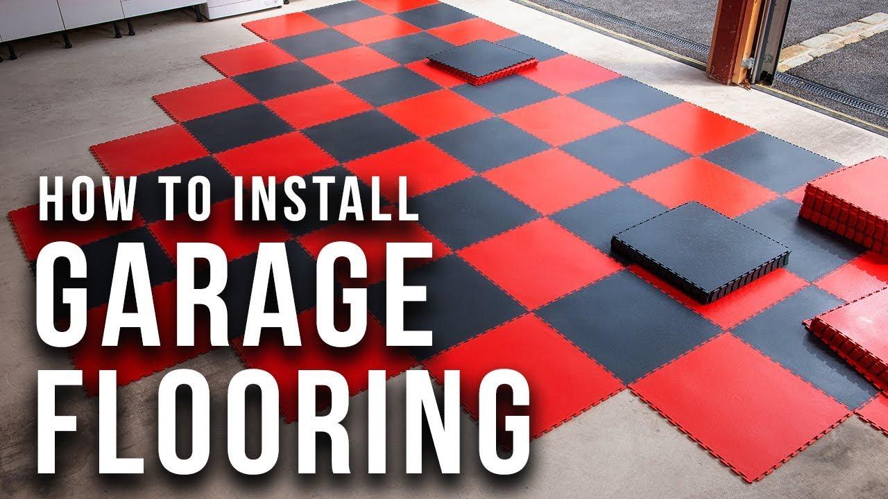 Fit Interlocking Garage Floor Tiles