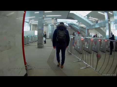"""Переход метро """"Черкизовская"""" -  МЦК """"Локомотив"""". 21.03.2018"""