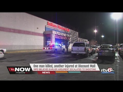 Man dead after shooting at Indiana Discount Mall