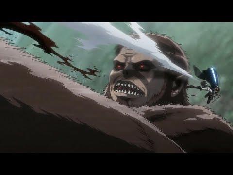 Levi Vs Beast Titan | Marlowe Death [Attack On Titan Season 3 Episode 17]