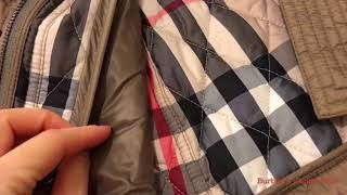 🎅🏼Xmas 2017 Unboxing🎁Burberry Quilted Trench Jacket with Detachable Hood