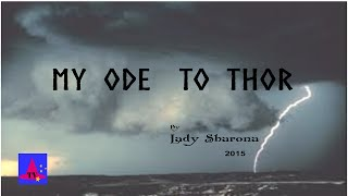 Lady Sharona's Ode to Thor.