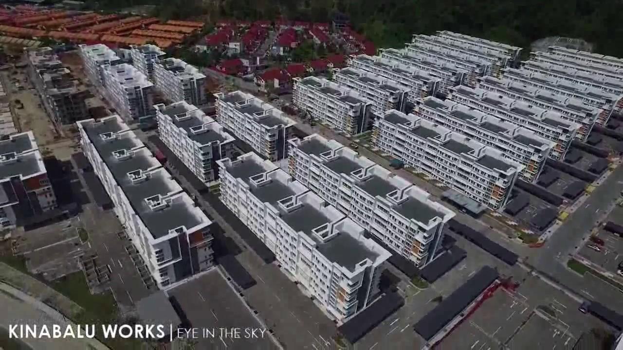 Aerial View University Utama Inium Uuc