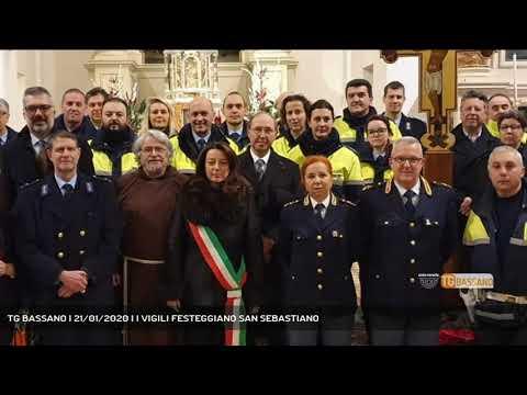 TG BASSANO | 21/01/2020 | I VIGILI FESTEGGIANO SAN...