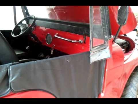 jeep willys 1961 motor original 6cc