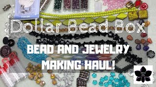 September 2018 Dollar Bead Box Haul   Beaded Jewelry Making Materials, Beads, and Findings