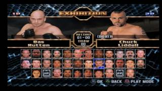 UFC Throwdown - PS2 Gameplay
