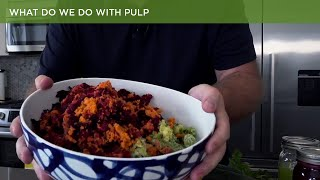 What to do with pulp