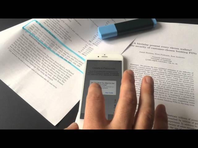 Ils réussissent à hacker Touch ID en 15 minutes - Belgium-iPhone