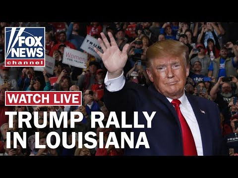 Live: Trump holds campaign rally amid public impeachment hearings