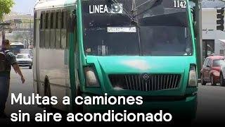 Camiones con aire acondicionado no serán multados - Clima - Denise Maerker 10 en punto Mp3