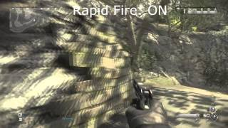 Call of Duty Ghost RAPID FIRE WITH Secondary Handguns MP 443 GRACH