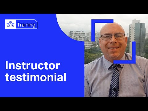 Meeting our Instructors | IATA Safety & Quality training