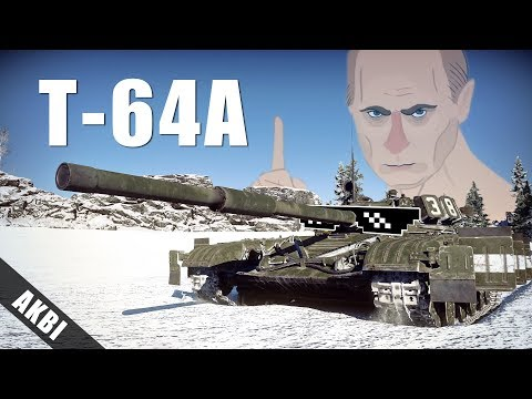 War thunder - T-64A 실황자막 (Eng Sub)