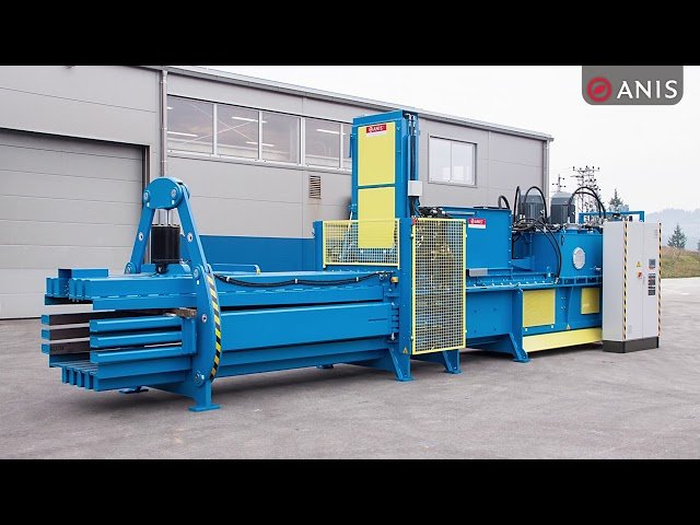 ANIS PREMIUM Baler series with main features