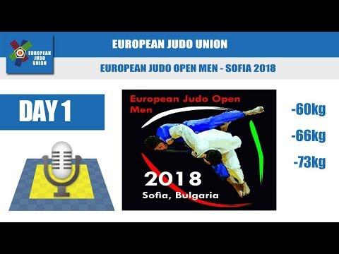 European Judo Open Men - Sofia 2018 - Day 1