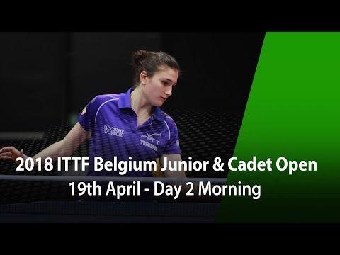 2018 Belgium Junior & Cadet Open - Day 2 Morning