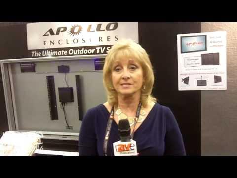 CEDIA 2016: Apollo Enclosures Showcases Line of Outdoor TV Enclosures