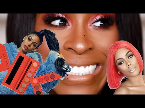 I Tried KEYSHIA KA'OIR's MAKEUP LINE and was...SURPRISED! | Jackie Aina