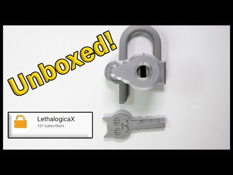 [429] Lock Sport Update | Unboxing LethalogicaX 3D Printed Disc Detainer Lock