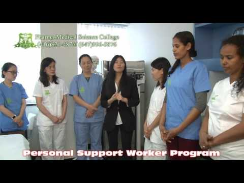 Pharma-medical Science College of Canada - PSW training & demonstration - Personal Support Worker