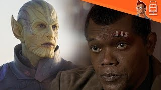 Nick Fury Backstory & Skrull-Kree War Connection