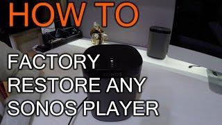 видео Sonos CONNECT:AMP, купить сетевой проигрыватель Sonos CONNECT:AMP