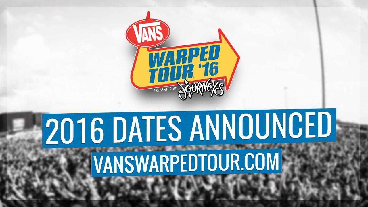 Warped Tour Dates Announced