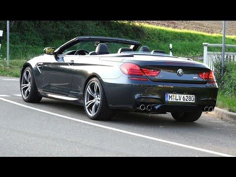2014 BMW M6 Cabrio (560hp) - DRIVE & SOUND (1080p)
