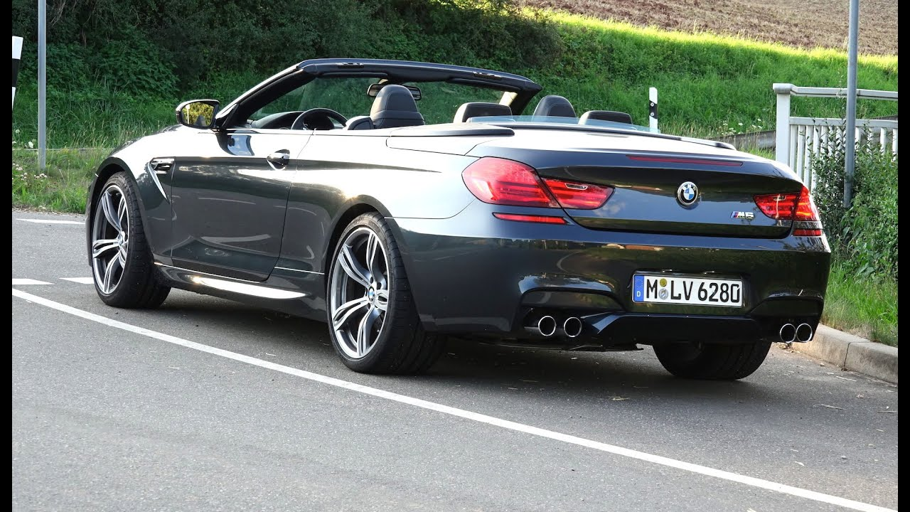 2014 bmw m6 cabrio 560hp drive sound 1080p youtube. Black Bedroom Furniture Sets. Home Design Ideas