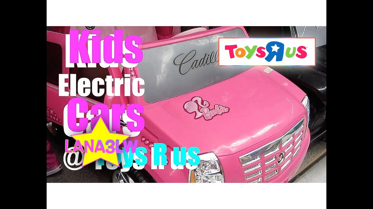 Kid Test Drives Cars At Toysrus Youtube