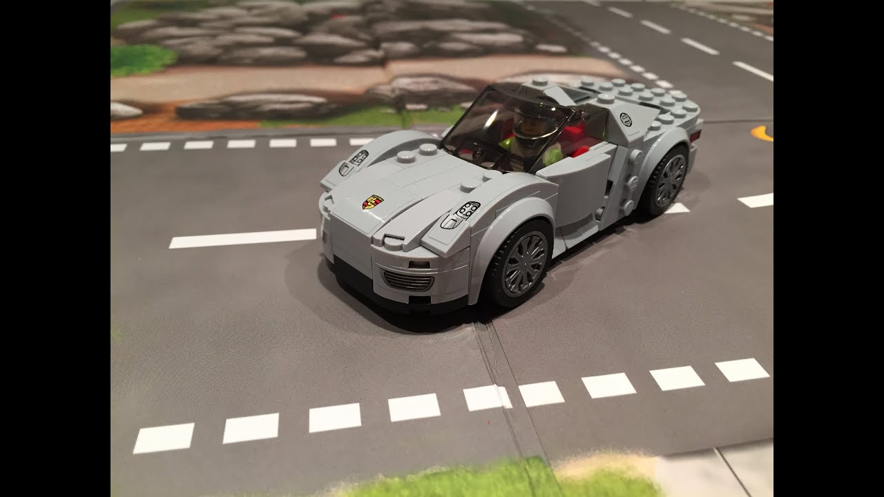 new lego porsche 918 spyder 75910 review youtube. Black Bedroom Furniture Sets. Home Design Ideas