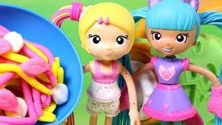 Play Doh & Betty Spaghetty • Makaronowa zabawa ze spaghetti • bajka po polsku