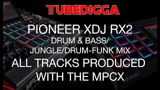 Drum & Bass/Jungle/Drumfunk DJ Mix using a Pioneer XDJ RX2
