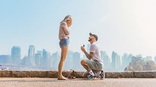 WE'RE ENGAGED: Our Proposal Story in Vancouver | Inthefrow