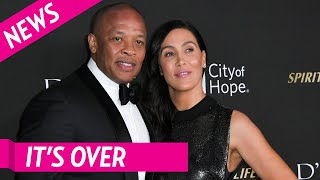 Dr  Dre's Wife Nicole Young Files For Divorce After 23 Years Of Marriage