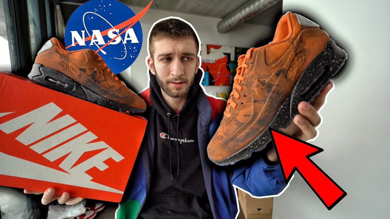 THESE WERE REALLY LIMITED! NIKE AIR MAX 90 MARS LANDING PICKUP REVIEW!