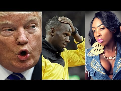 SPICE  Disses Matey Online | President Tweets Video Of  Usain Bolt