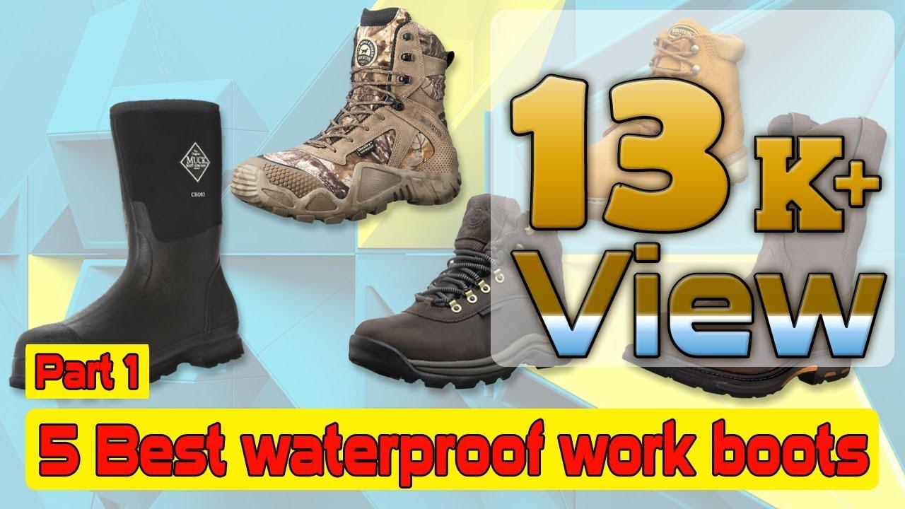 5 Best waterproof work boots and mens waterproof work boots Part-1 ...