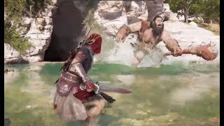 Assassin's Creed Odyssey Mythical Boss Fight - Steropes The Lightning Bringer