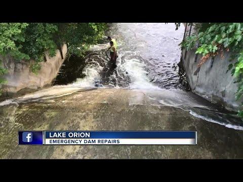 Emergency dam repairs needed in Lake Orion